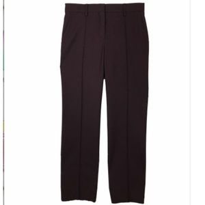 Valentino burgundy tailored pants